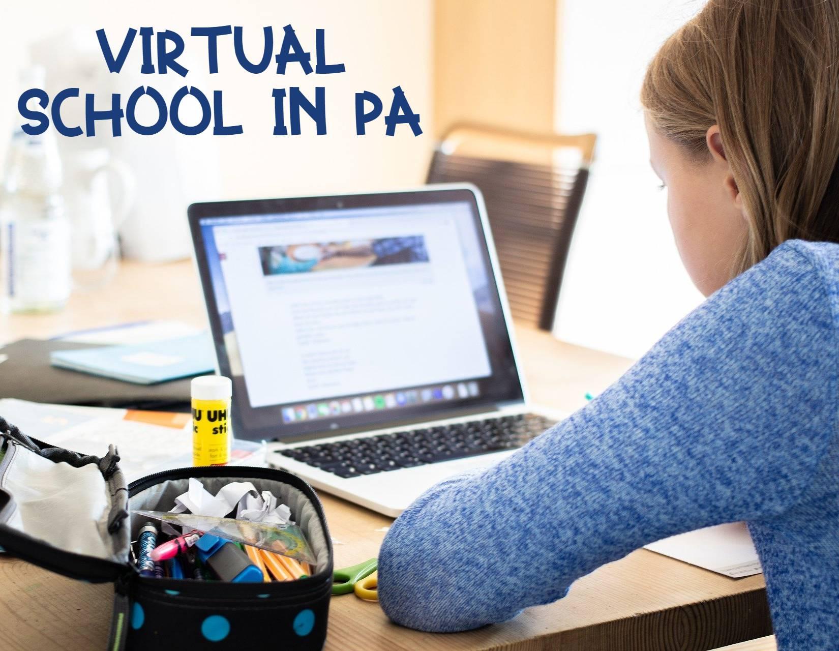 K-12 distance schooling in PA
