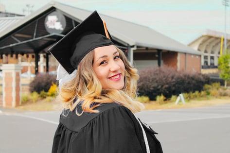 girl - graduation